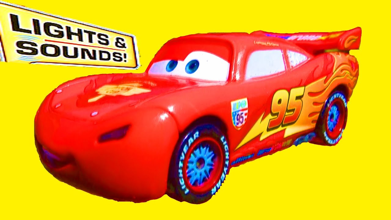 Pixar Cars 2 Lights And Sounds Lightning McQueen Mattel Talking Toys Quotes  From Cars 2 The Movie!   YouTube