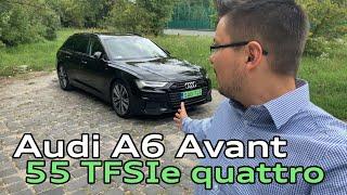 Audi A6 Avant 55 TFSIe quattro tesztvezetés Kelemen Lászlóval