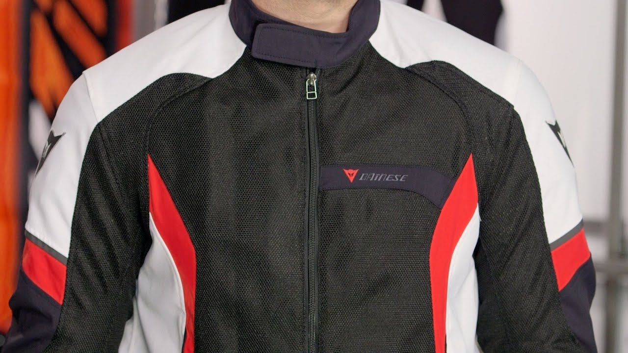 Summer Motorcycle Jacket >> Dainese Air Crono Mesh Jacket Review at RevZilla.com - YouTube
