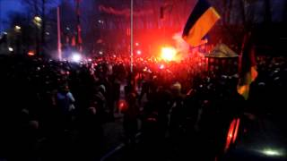ЄвроМайдан: Violence breaks out during Kiev rally for EU integration