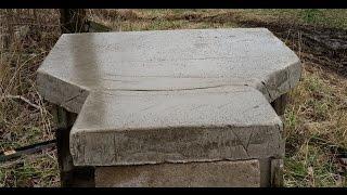 Concrete Shooting Bench