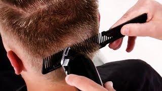 Мужская стрижка ПЛОЩАДКА - Как стричь площадка и укладывать