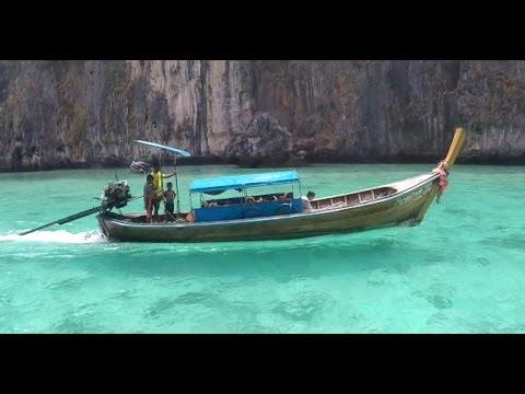 KOH PHI PHI'S  BLUE WATER THAILAND V125