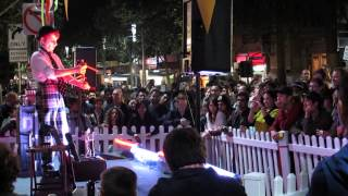White Night Melbourne 2014 - Smallpox Sideshow