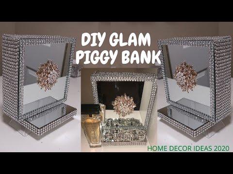 its-a-piggy/-coin-bank!!!-all-glammed-up,-diy-home-decor-ideas-2020