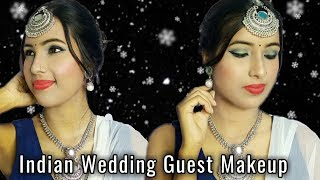 Indian Wedding Guest Makeup Look    Dance And Care