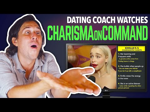 Dating Coach Reacts to CHARISMA ON COMMAND from YouTube · Duration:  24 minutes 24 seconds