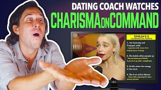 Dating Coach Reacts to CHARISMA ON COMMAND