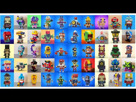 LEGO BRAWL STARS COMPILATIONS TOP BEAUTIFUL #4