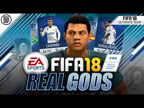 REAL GODS! YOU NEED TO TRY THIS! TOTGS CASEMIRO! - FIFA 18 Ultimate Team
