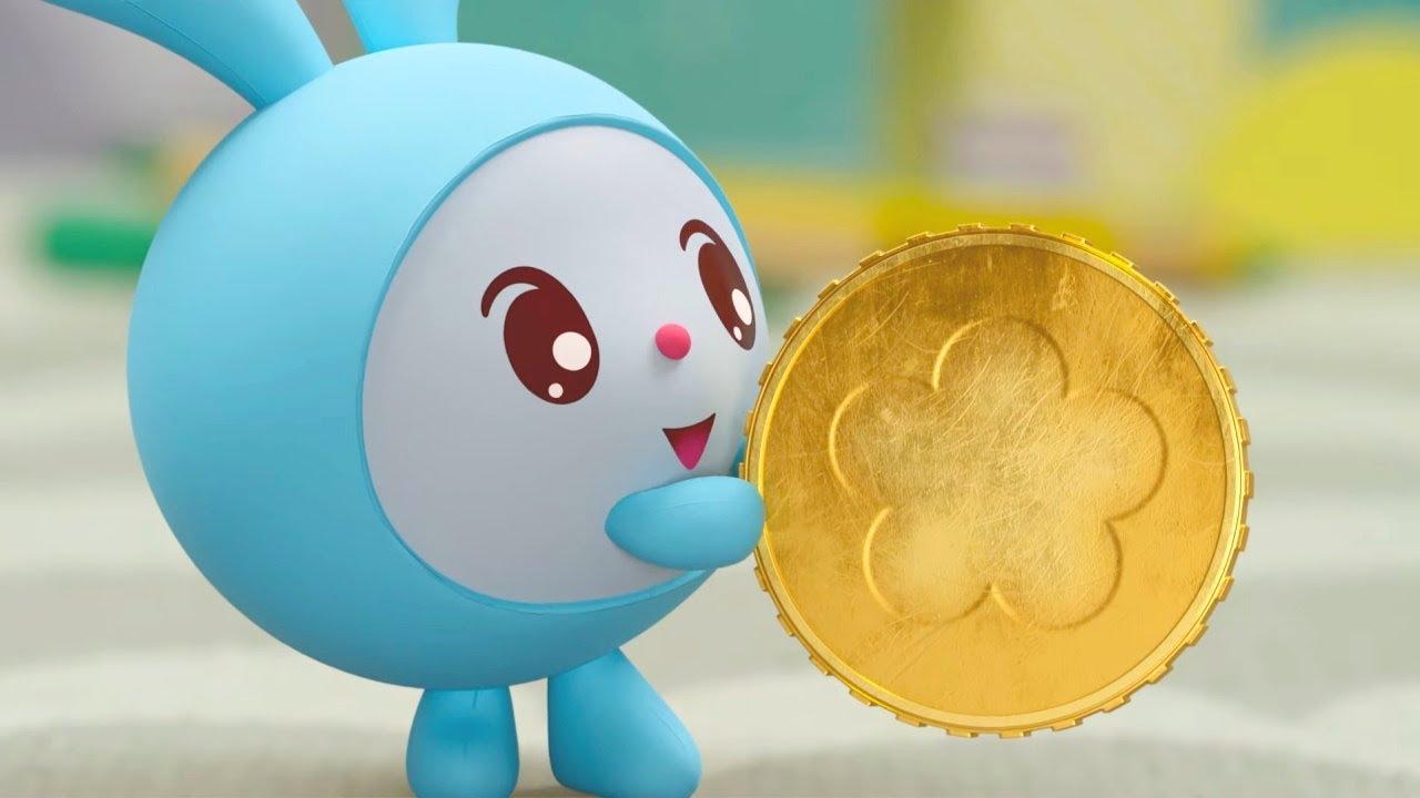 Малышарики – Монетка   Новая Серия 199   Мультики для детей