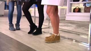 Skechers GOwalk Suede Faux Fur Boots w/ Memory FormFit-Imprint with Shawn Killinger