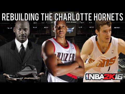 NBA 2K16 MyLEAGUE: Rebuilding the Charlotte Hornets!