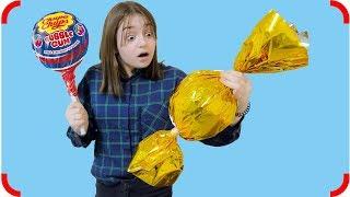 ГИГАНТСКИЙ Chupa Chups и ОГРОМНАЯ конфета