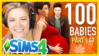 single Girl Throws Her First Thanksgiving In The Sims 4  Part 47