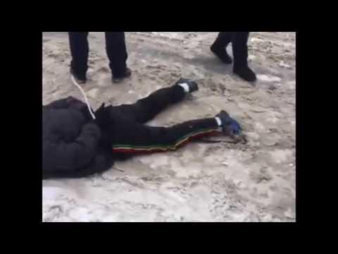 11.01.17 Оперативное видео задержания экс-милиционеров под Харьковом