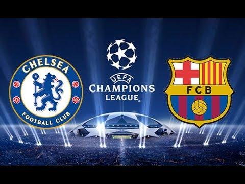 Match Sim / Chelsea vs FC Barcelona / UEFA Champions League 2017-2018 Octavos de Final /
