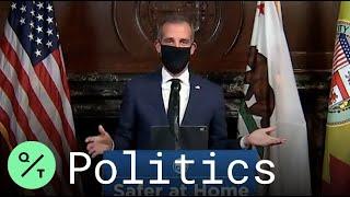 Coronavirus: Los Angeles Mayor…