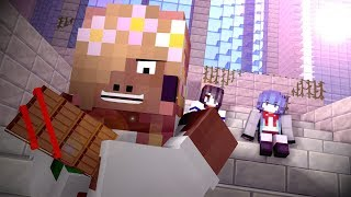 Mipera Minta Cokelat Valentine Sketsa Tawa Animasi Minecraft