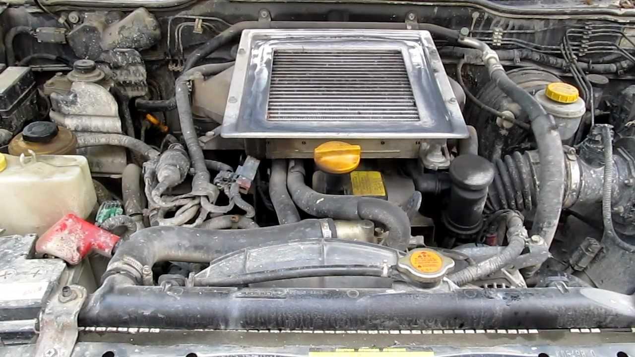 Diagram Of Fuse Box 1997 Ford Pick Up Nissan Terrano 2 2 7 Turbo Intercooler Engine Start