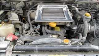 Nissan Terrano 2 - 2.7 Turbo Intercooler - Engine Start
