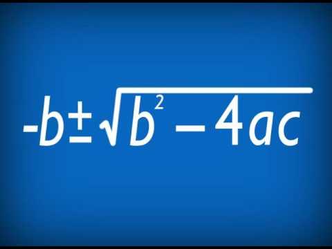 Quadratic Formula Song Rockford Christian