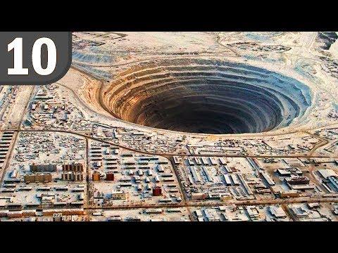 Top 10 Deepest Man Made Holes