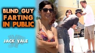 Repeat youtube video Blind Guy Farting In Public!