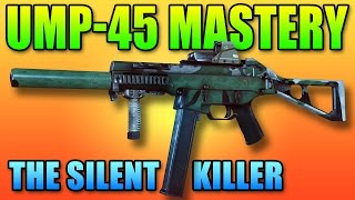 UMP-45 Mastery & Tactics - The Silent Killer! | Battlefield 4 PDW Gameplay