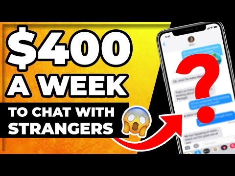 Get Paid Weekly Chatting With Strangers - (Side Hustle)