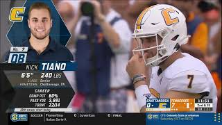 2019 Tennessee vs Chattanooga