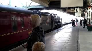 Steam at nottingham station part1