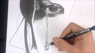 Desenho Realista - Efeito de água