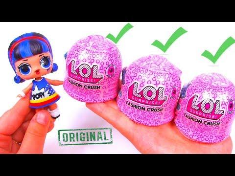 ОРИГИНАЛ LOL FASHION CRUSH SURPRISE 4 Series UNDER WRAPS Распаковка одежды Pop Heart ЛОЛ BLIND BAGS