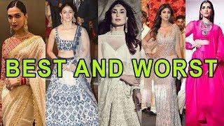 Priyanka Chopra, Deepika Padukone : Best and Worst Dressed at Isha Ambani Wedding