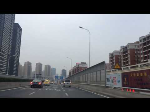 Driving in Wuhan, China