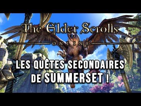 Les quêtes secondaires de SUMMERSET   THE ELDER SCROLLS ONLINE FR
