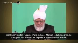 Wissen durch Erfahrung ergänzen und zum Nutzen der Jamaat einsetzen - Freitagsansprache 4. März 2016