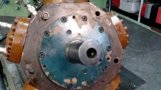 essais moteur hydraulique pleiger