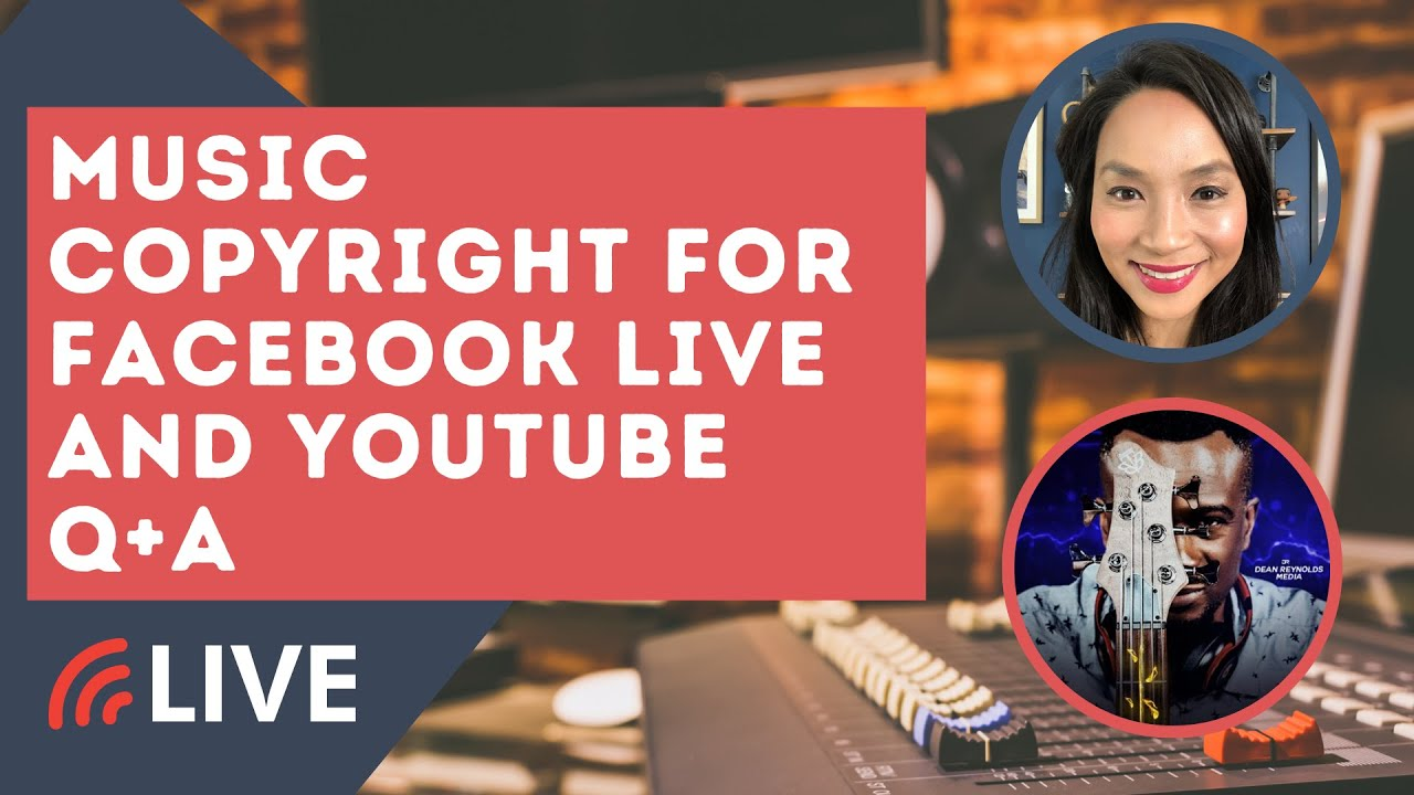 How To Legally Play Music On Facebook Live Copyrighted Music On Facebook The Low Down Youtube