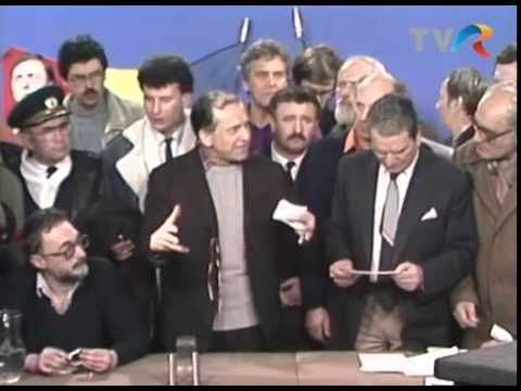 Revoluţia română: Prima intervenţie în direct a lui Ion Iliescu