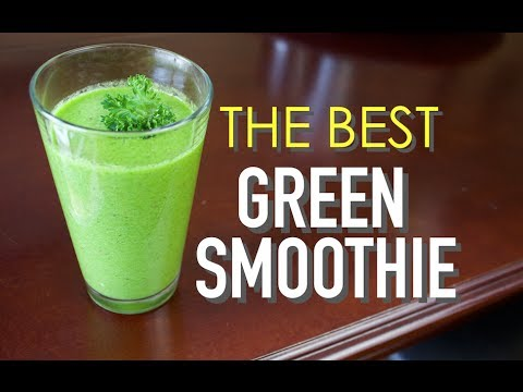 The Best Green Smoothie Recipe With The Health Master Clean Eating