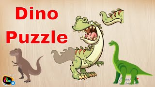 Kids puzzle for preschool education - Dinosaur Dino Animals Jigsaw Puzzle For Kids Game #1