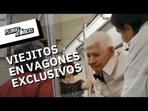 ¿Adultos mayores pueden viajar en el vagón de mujeres?