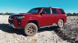 4Runner Trail Edition: 2wd vs 4wd open vs locked 4wd