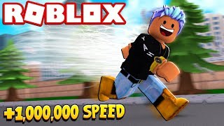 1,000,000 SPEED IN ROBLOX SPEED SIMULATOR 2!!