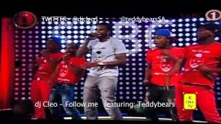 dj cleo - follow me LIVE  with teddybears