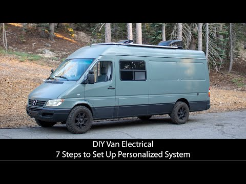 How To Design a Sprinter Van Electrical System // DIY VANLIFE Power Systems Explained!