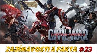 Zajímavosti a Fakta #23 - Captain America: CIVIL WAR | ULBERT