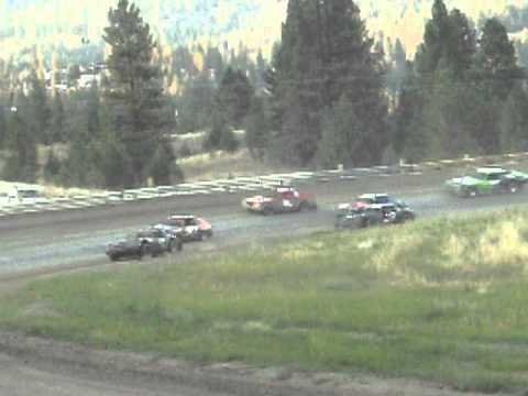 Eagle Track Raceway Pit Men Race Part 1 Sept 10th 2011